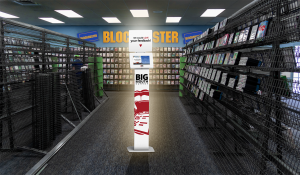 What if blockbuster had customer feedback kiosk